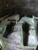 Sepulcro antropomorfo de San Pedro de Rocas. Orense