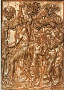 puerta del Hospital del Rey, de Burgos (siglo XVI)